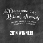 Chesapeake Bridal Awards Winner 2014