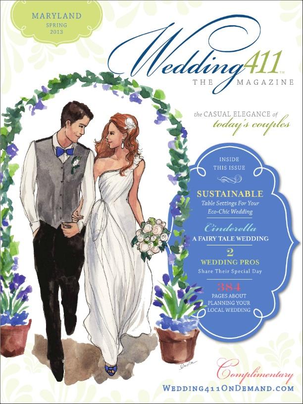 wedding 411 spring mag