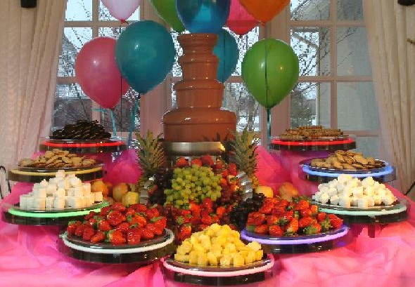 Chocolate Waterfall Beverage Fountain Rental Maryland
