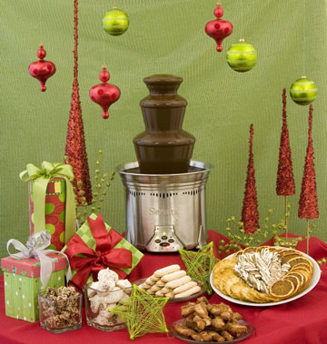 Holiday Chocolate Fountain