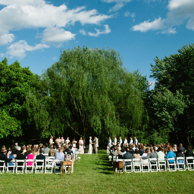 The Knot Backyard Wedding