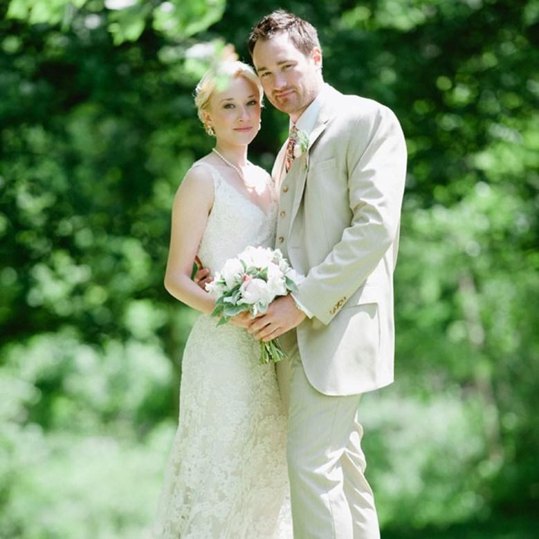 The Knot Backyard Wedding
